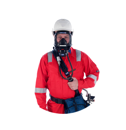 RIG-walker – Cam Lock's airline escape set breathing apparatus